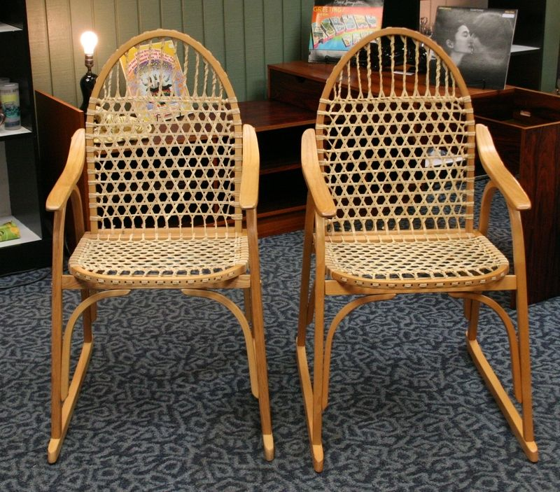 Snowshoe Chairs!