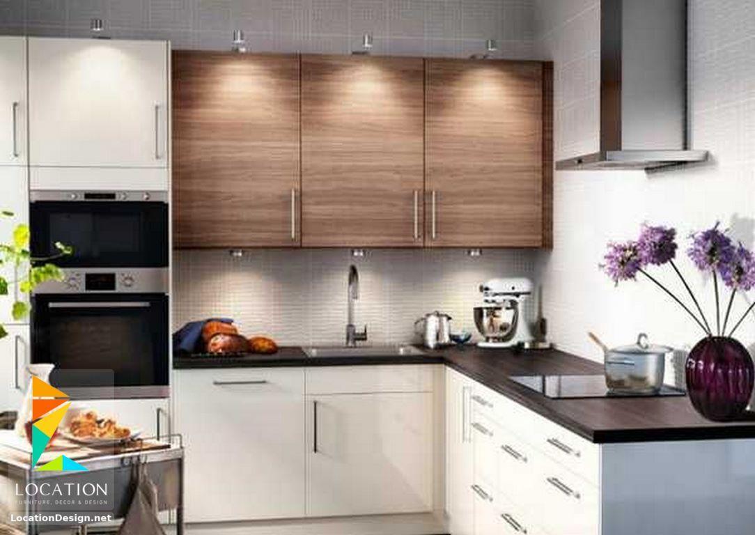 بالصور أفكار وتصميمات مطابخ مودرن صغيرة المساحة 2018 2019 لوكشين ديزين نت Kitchen Design Small Space Kitchen Remodel Small Kitchen Design Modern Small