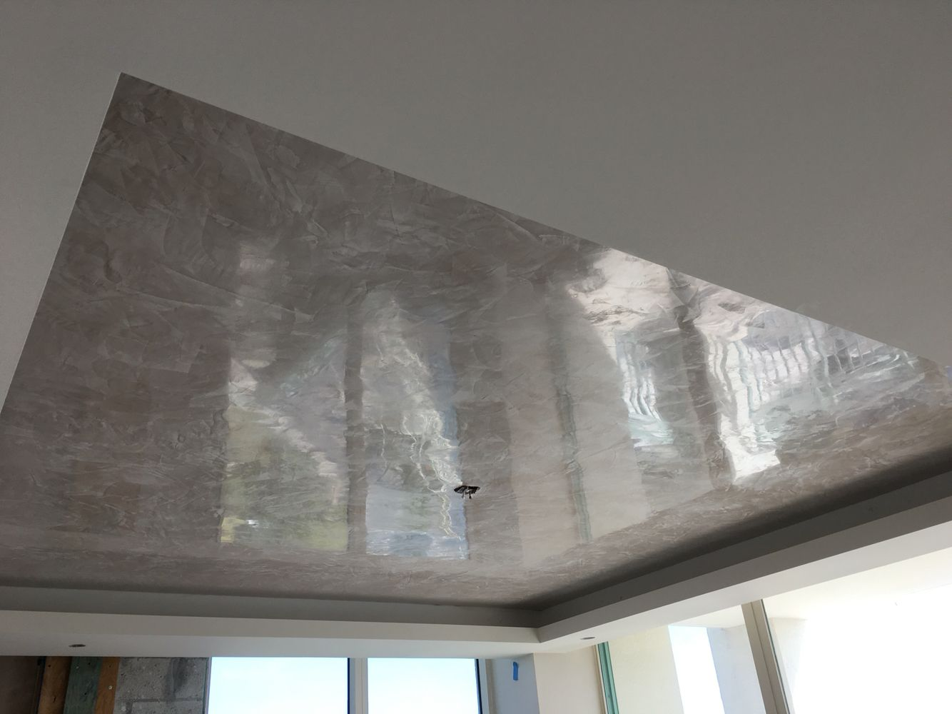 Venetian Plaster Ceiling Polished Plaster Faux