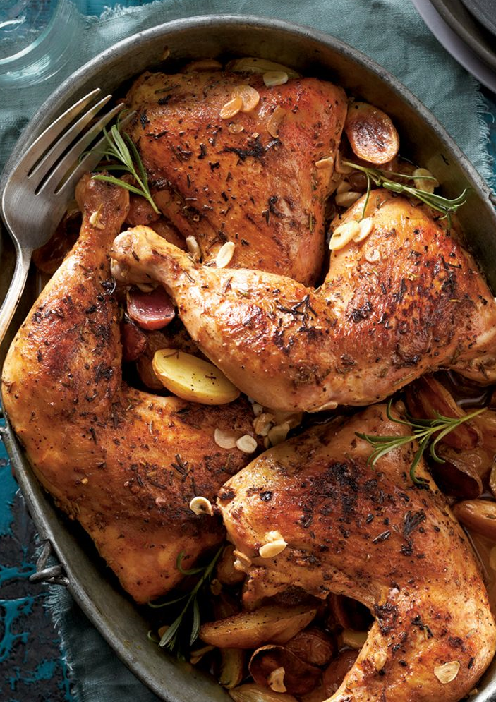 How long do you cook chicken leg quarters in a pressure cooker
