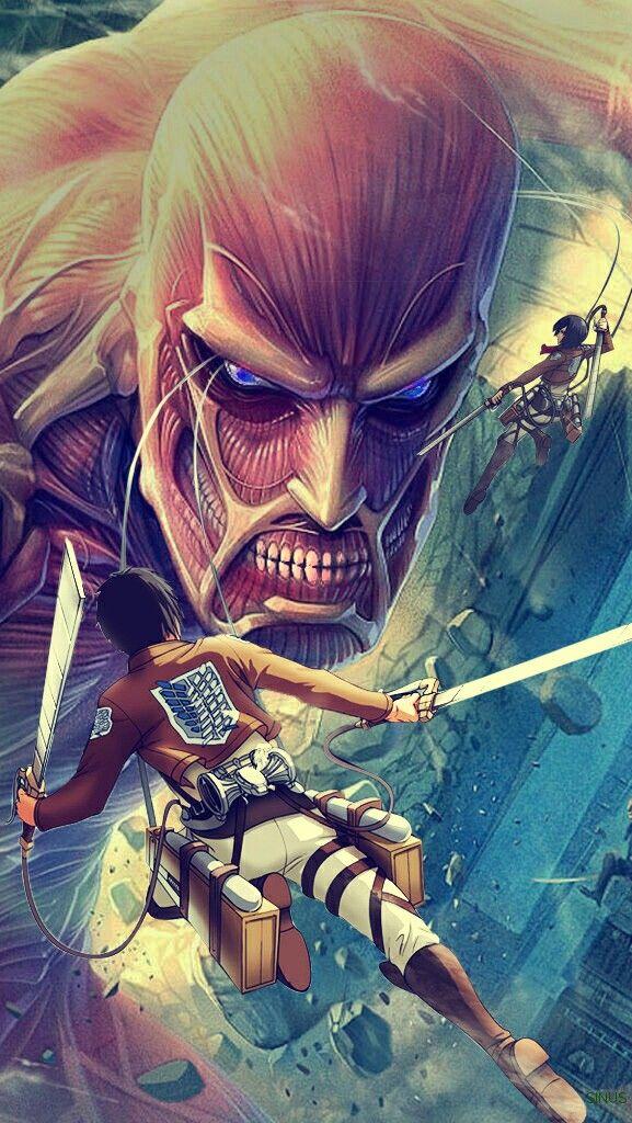 AOT SNK Eren Attack on titan wallpaper Mobile Aot