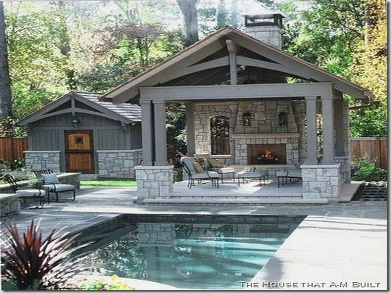 Pool House Plans With Bathroom Home Sweat Patio Makeover Pool Houses Backyard Retreat