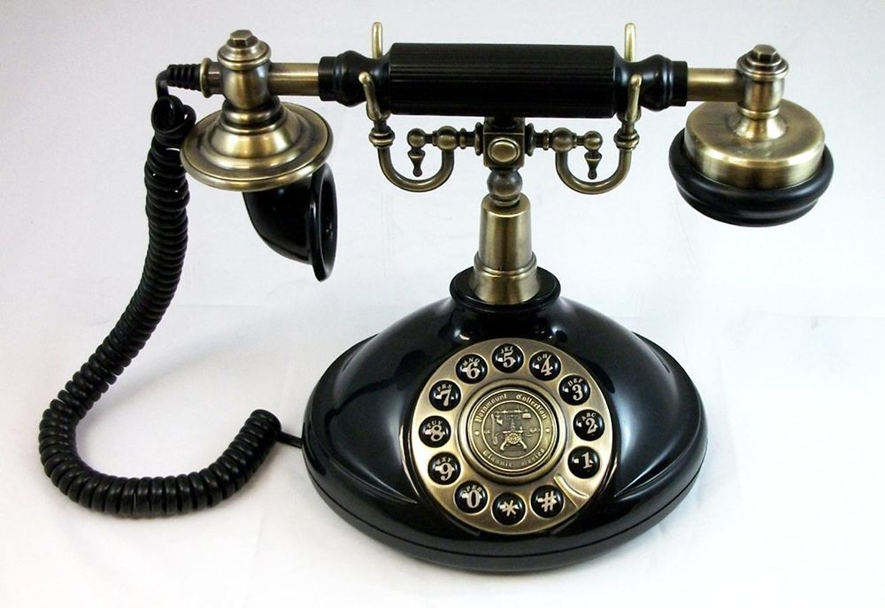 1920 Style Viscount Antique Vintage Reproduction Retro Corded Desk Phone NEW - 1920 Style Viscount Antique Vintage Reproduction Retro Corded Desk
