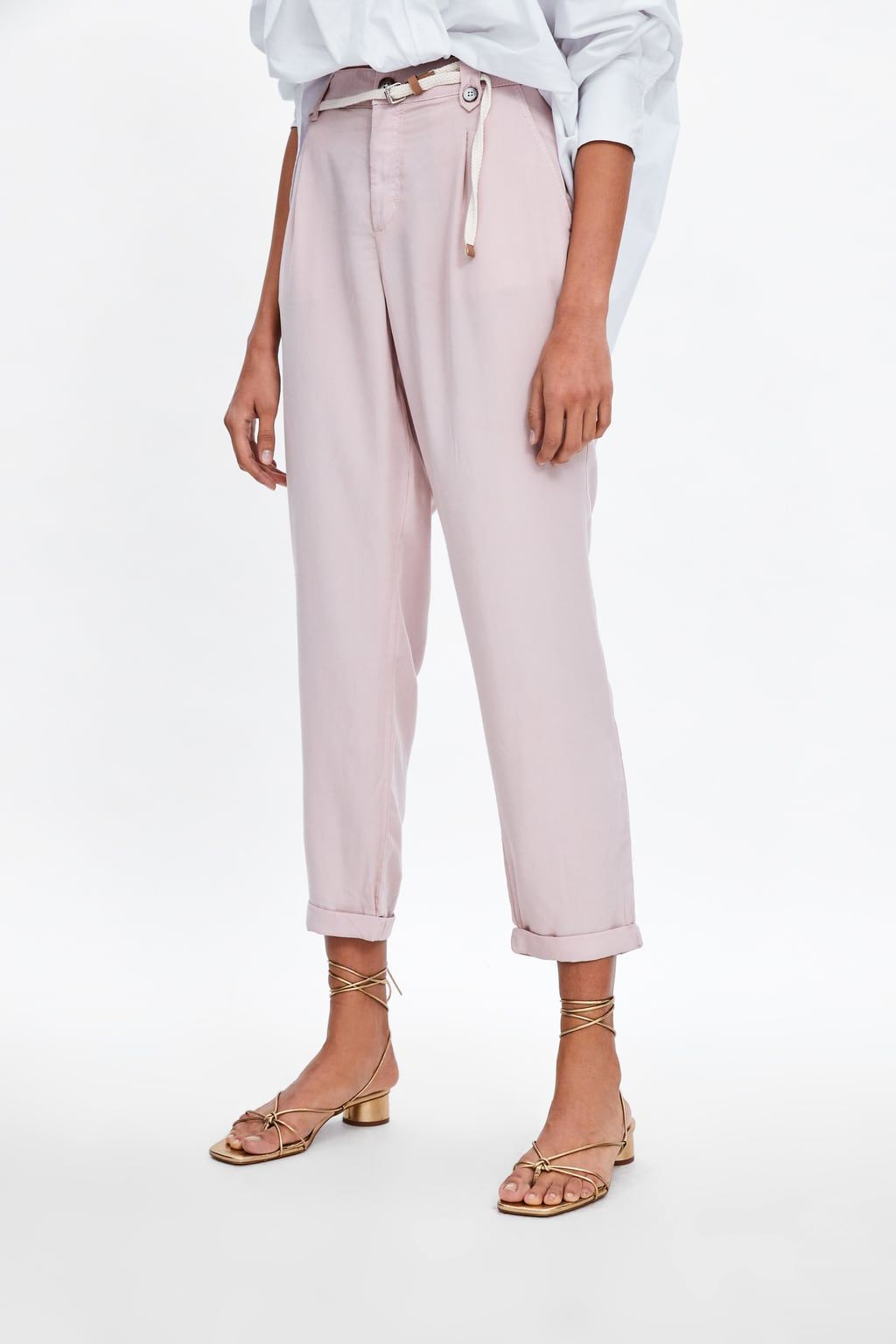 4f24cc1d BELTED PANTS - NEW IN-WOMAN | ZARA United States | My Style in 2019 ...
