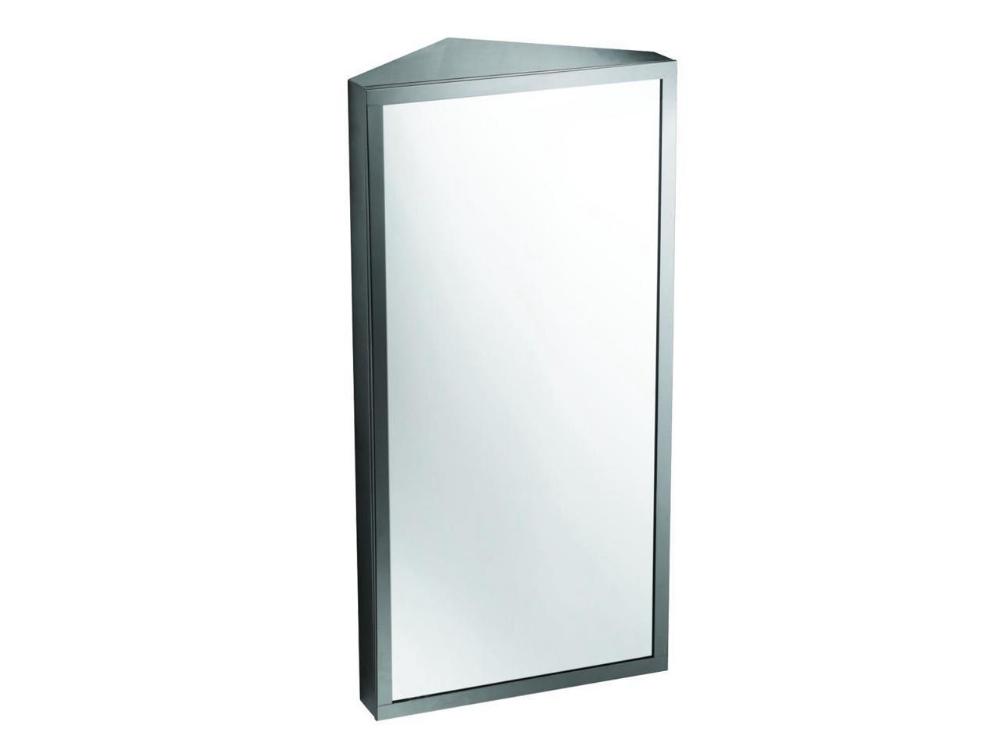 Wall Mount Corner Mirror Medicine Cabinet Polished Stainless Steel Newegg Com Medicine Cabinet Mirror Corner Mirror Medicine Cabinet
