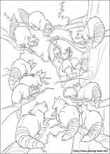 Brother Bear 2 coloring pages on Coloring-Book.info
