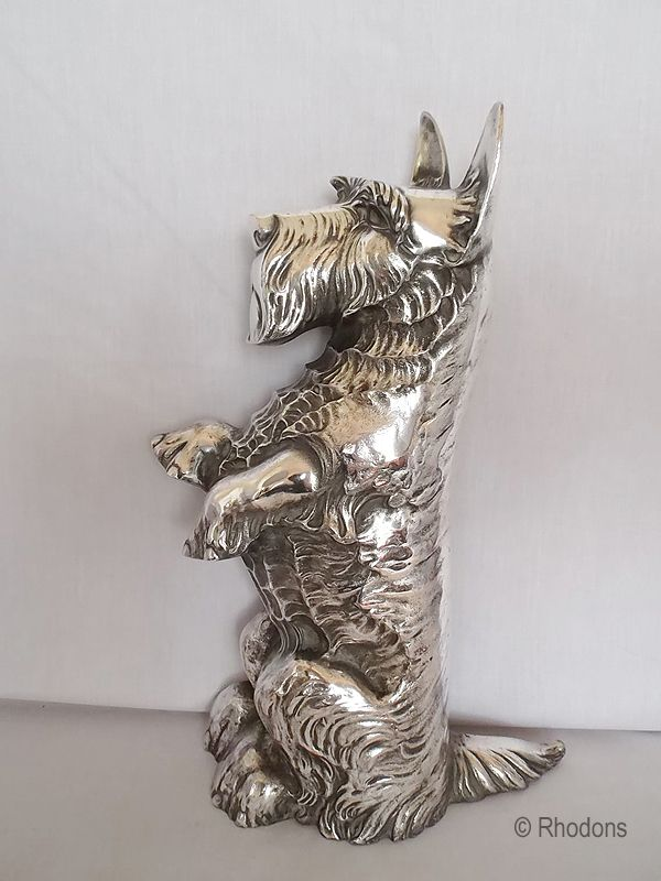 Antique Copper and Silver Paw and Fish Shapes Cat Pet Brads