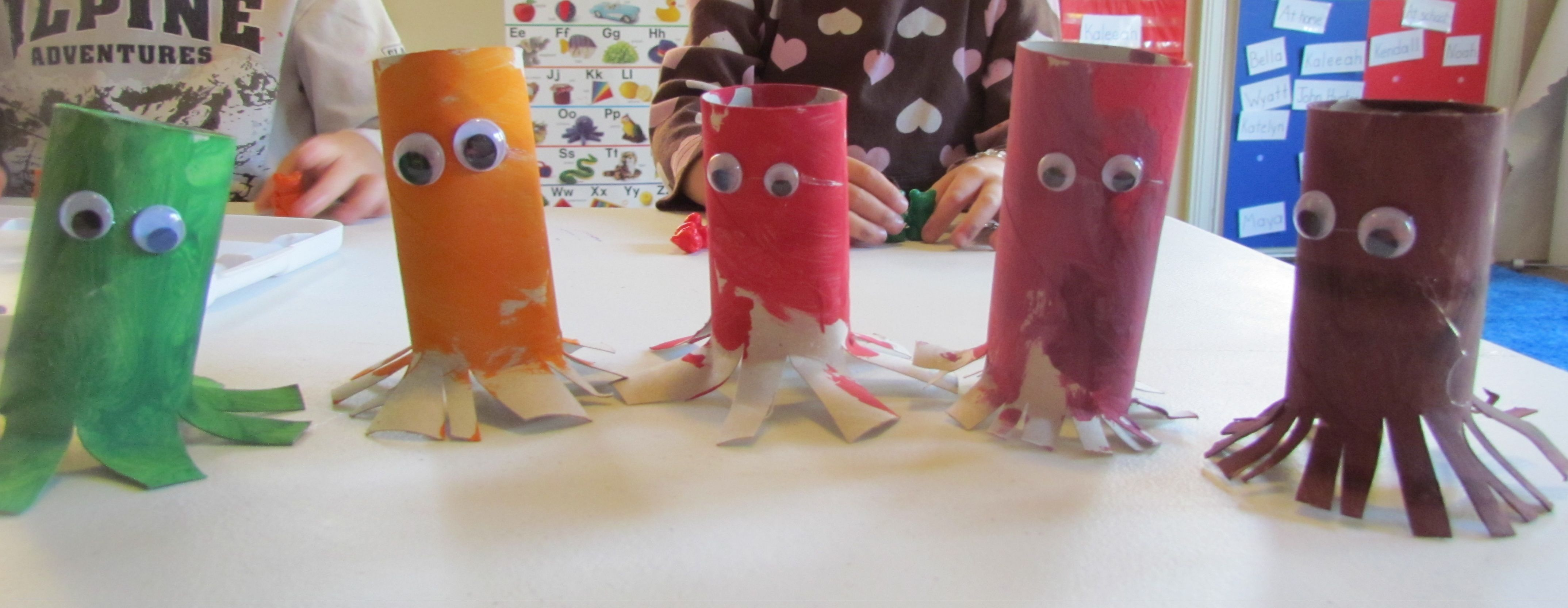 simple spiders our preschoolers made ocean themed crafts spider
