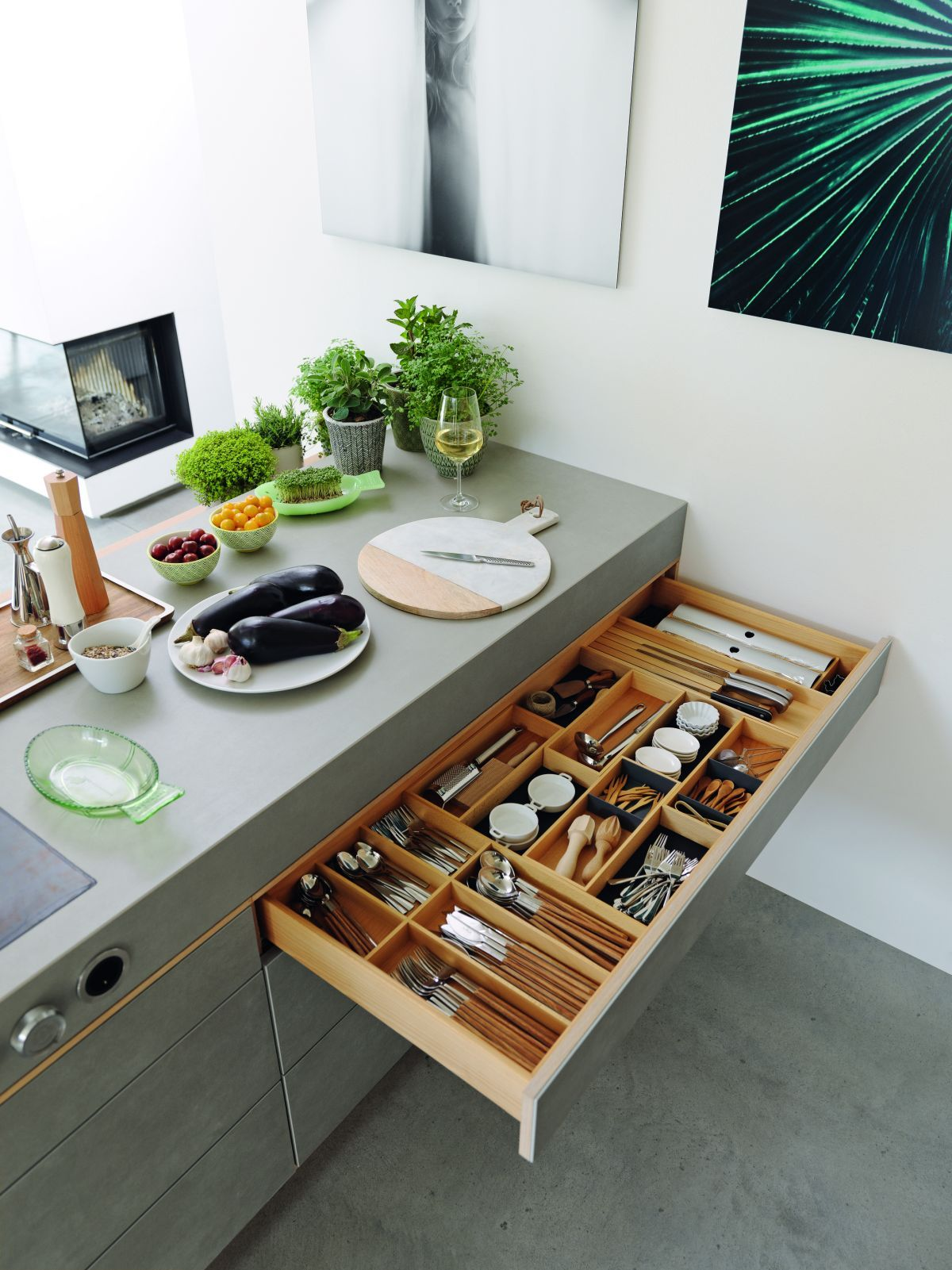 Kunststeinplatten Küche
