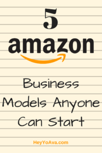 amazon business models