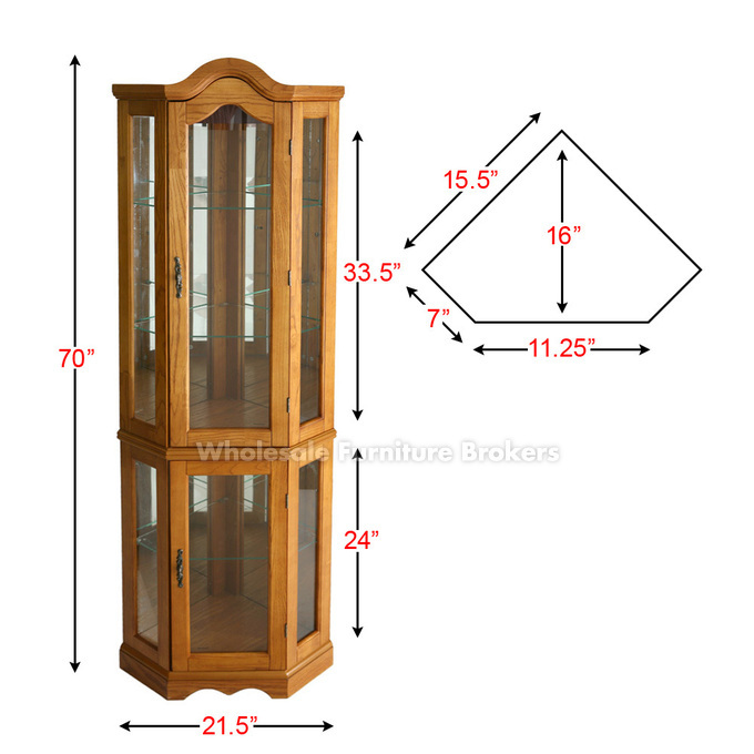 Exceptional How To Measure Corner Cabinets 5 Lighted Corner Curio Cabinet Curio Cabinet Corner Curio Venetian Mirrors