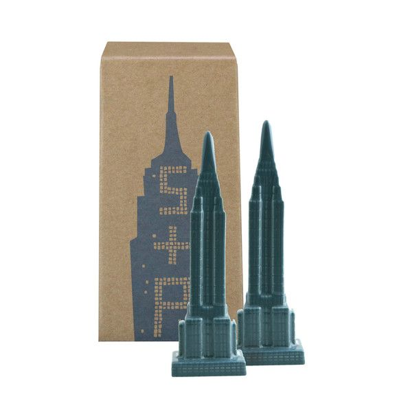 Empire State Salt & Pepper Set