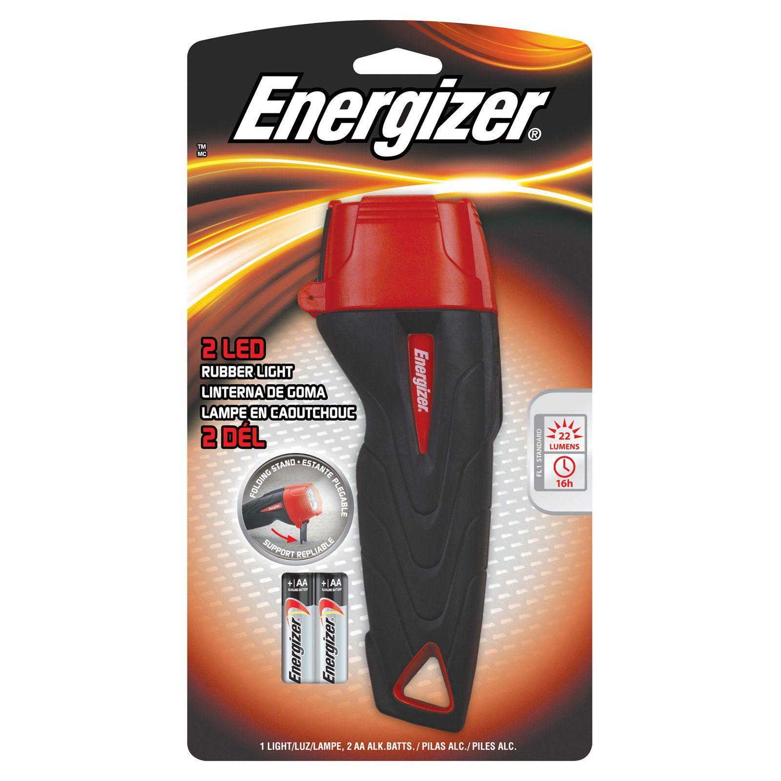 Energizer RUB21E LED Flashlight 10802437 Led