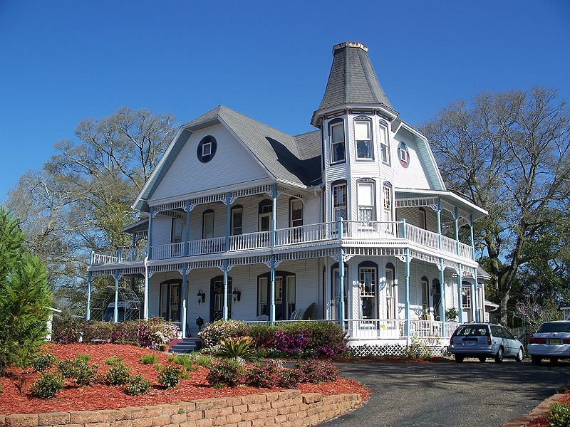 The Great Southern Chautauqua Victorian homes, Defuniak