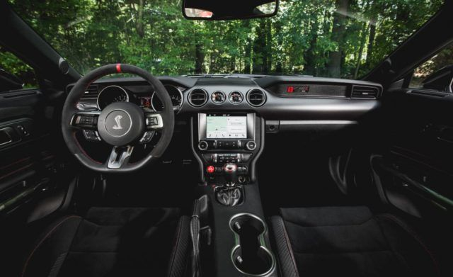 2017 Ford Mustang Shelby Gt350 Interior Ford Mustang Shelby Gt