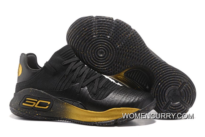 """Under Armour Curry 4 Low """"Black Gold""""Men Sneakers Copuon Code ... 3ff244442"""