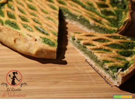 Torta salata pasta sfoglia integrale
