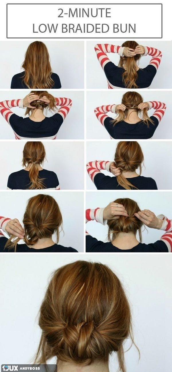 Easy Bun Hairstyles Best Simple Hairstyle Tutorial  Fabulous  Pinterest  Simple Hairstyles