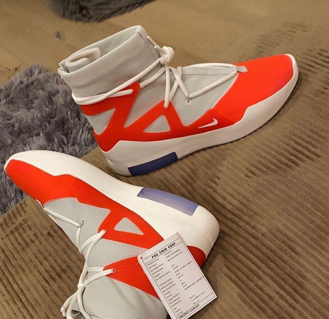 Nice Kicks On Instagram Pjtucker Is Rocking A Nike Fear Of God 1 Pe For Tonight S Houstonrockets Game Nike Casual Shoes Nike Fashion Shoes Nike