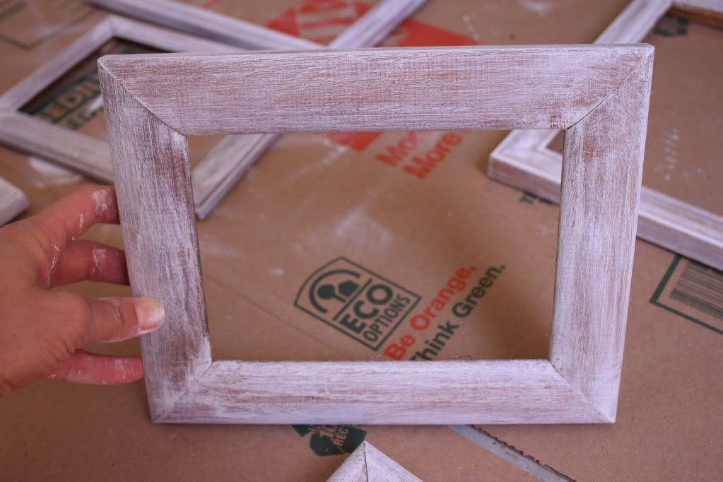 DIY distressed frames | things to make! | Pinterest | Distressed ...