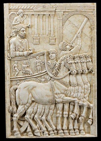 Triumph of Marcus Aurelius Roman Relief Frieze - Roman Emperors Collection…