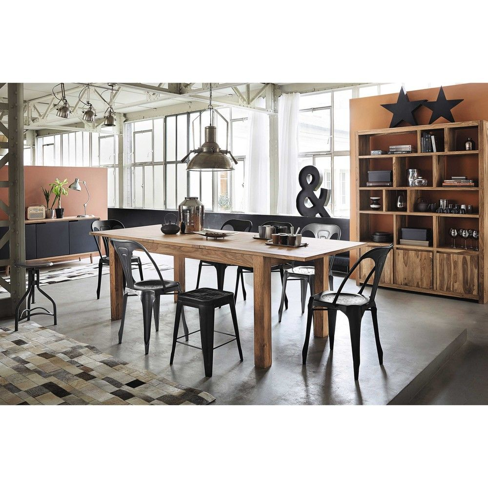 discover maisons du mondes solid sheesham wood extending dining table w browse a varied range of stylish affordable furniture to add a unique touch to