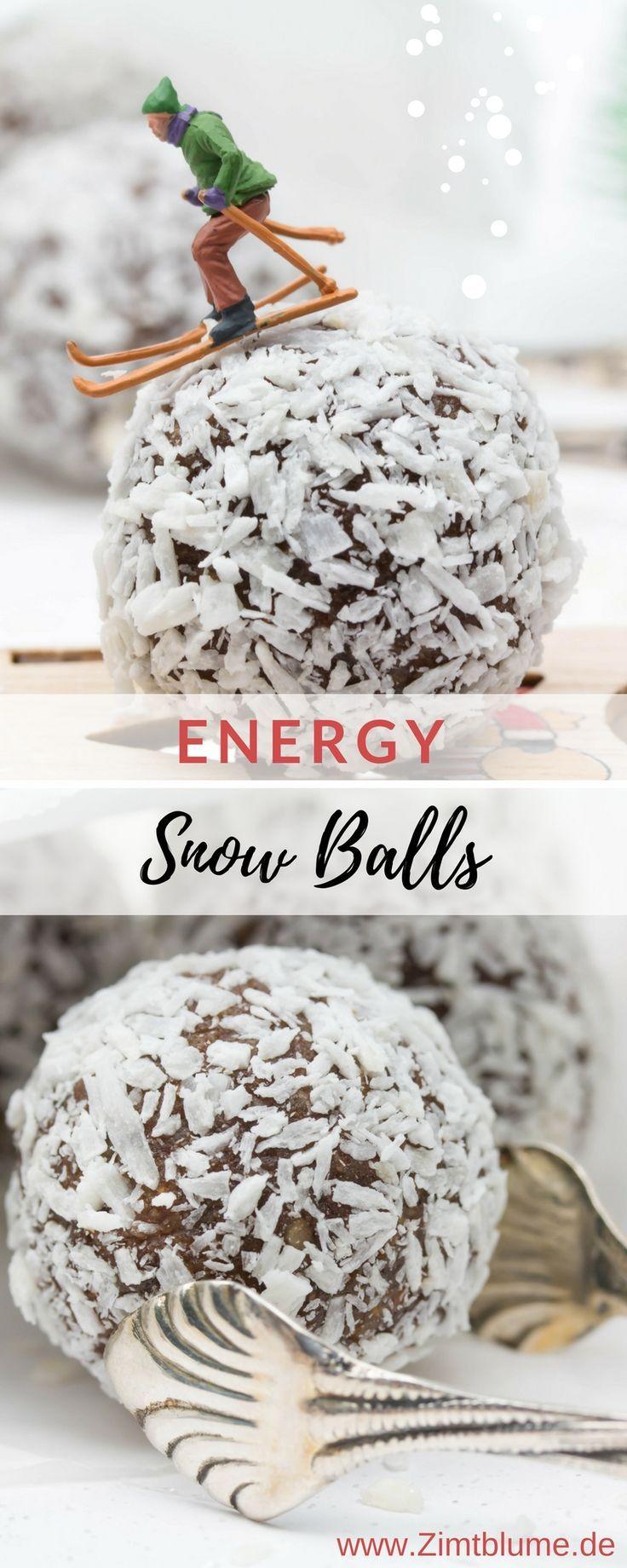 Rezept für Energy Snow Balls: So kann der Winter kommen! | #healthychocolateshakes