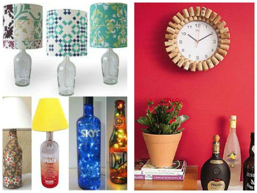 Ideias para decorar sua casa com material reciclado | Decoracion ...