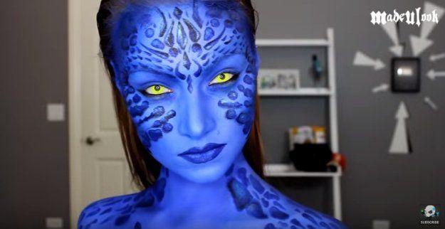 Mystique | Superhero Makeup