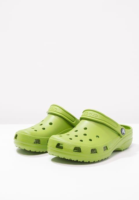 sports shoes 88d26 0ebee Crocs CLASSIC - Sandalias - parrot green - Zalando.es ...