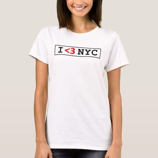 I Love NYC Women's, Men's Graphic TShirt T