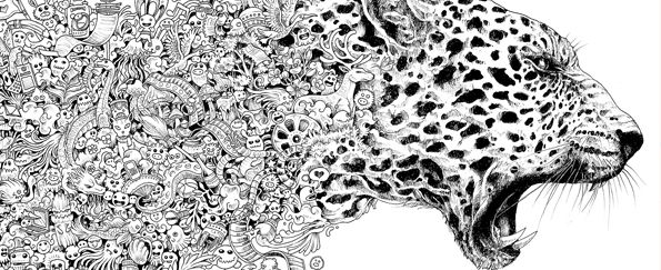 Challenge Yourself with These Extreme Advanced Colouring Books ...