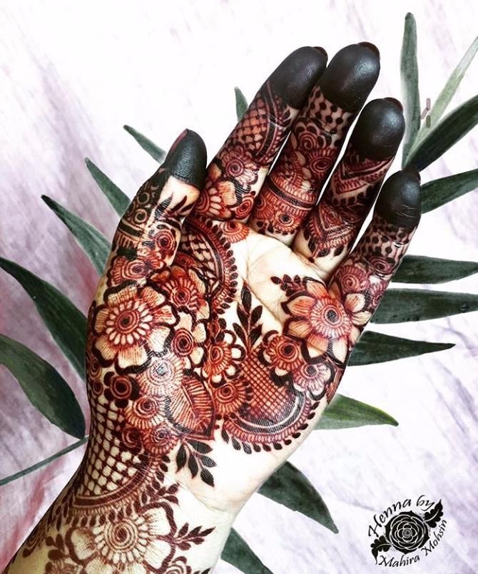 Colour Mehndi Designs For Hands Mehndi Designs New Mehndi Designs