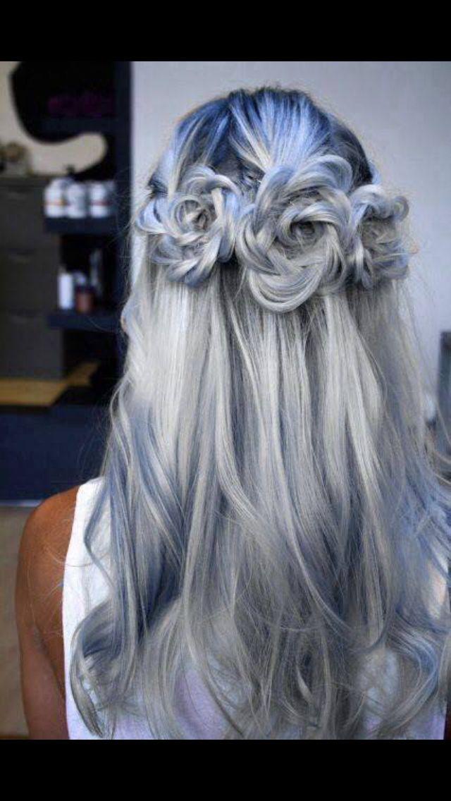 Fairytale princess hair