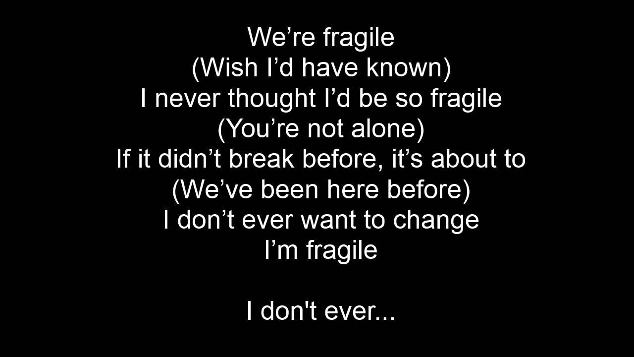 Tech N9ne - Fragile Lyrics (ft  Kendrick Lamar, ¡MAYDAY