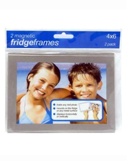Shot 2 Go Magnetic Fridge Photo Frames 4x6 - 2 pack - Boots ...