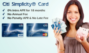 Citi Simplicity Citi Simplicity Card Credit card