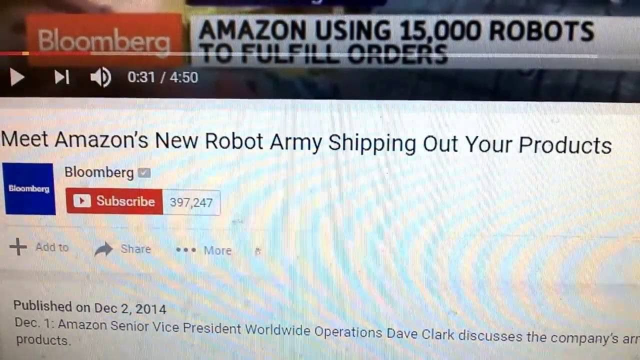 Meet Amazon's New Robot Army Shipping Out Your Products