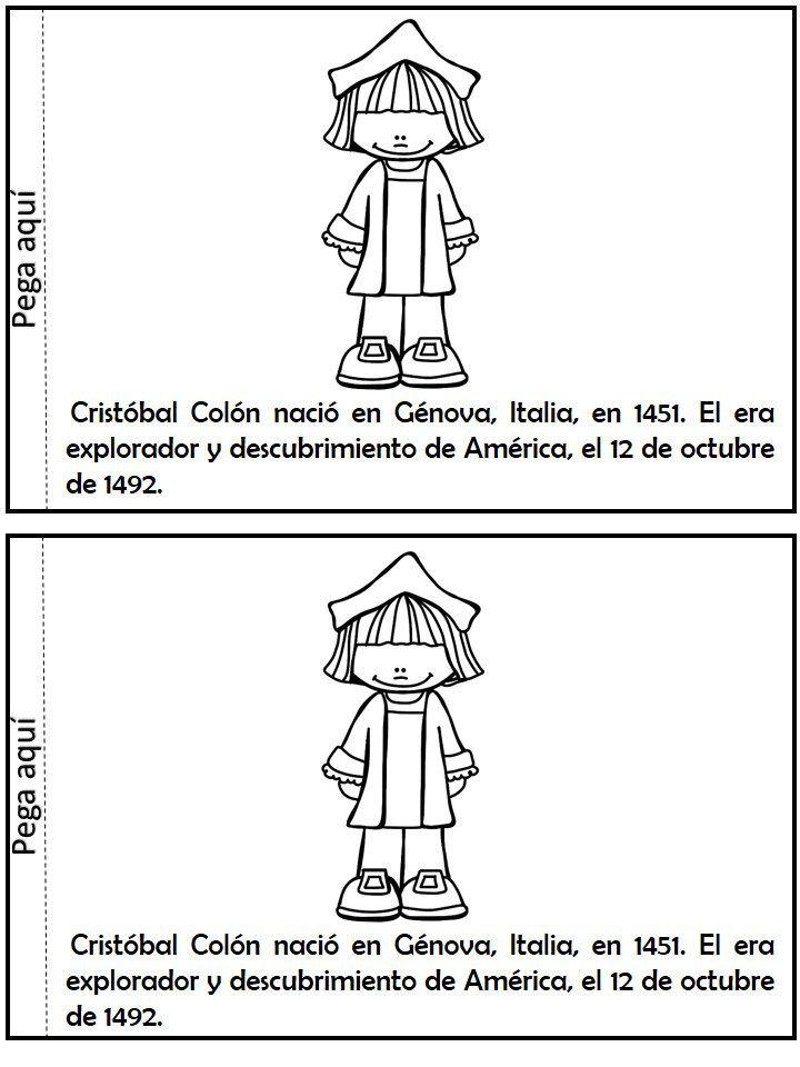 Libro interactivo Descubrimiento de América Cristobal Colón | Colón ...