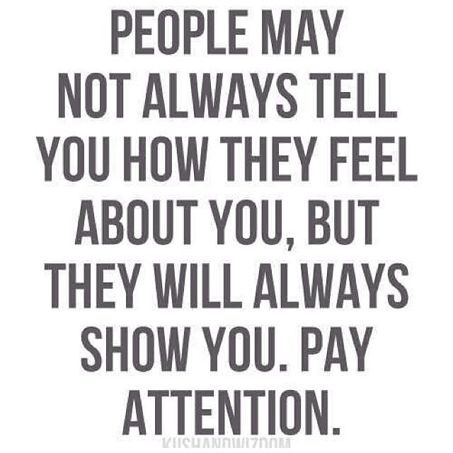 Actions Speak Louder than Words in Relationships