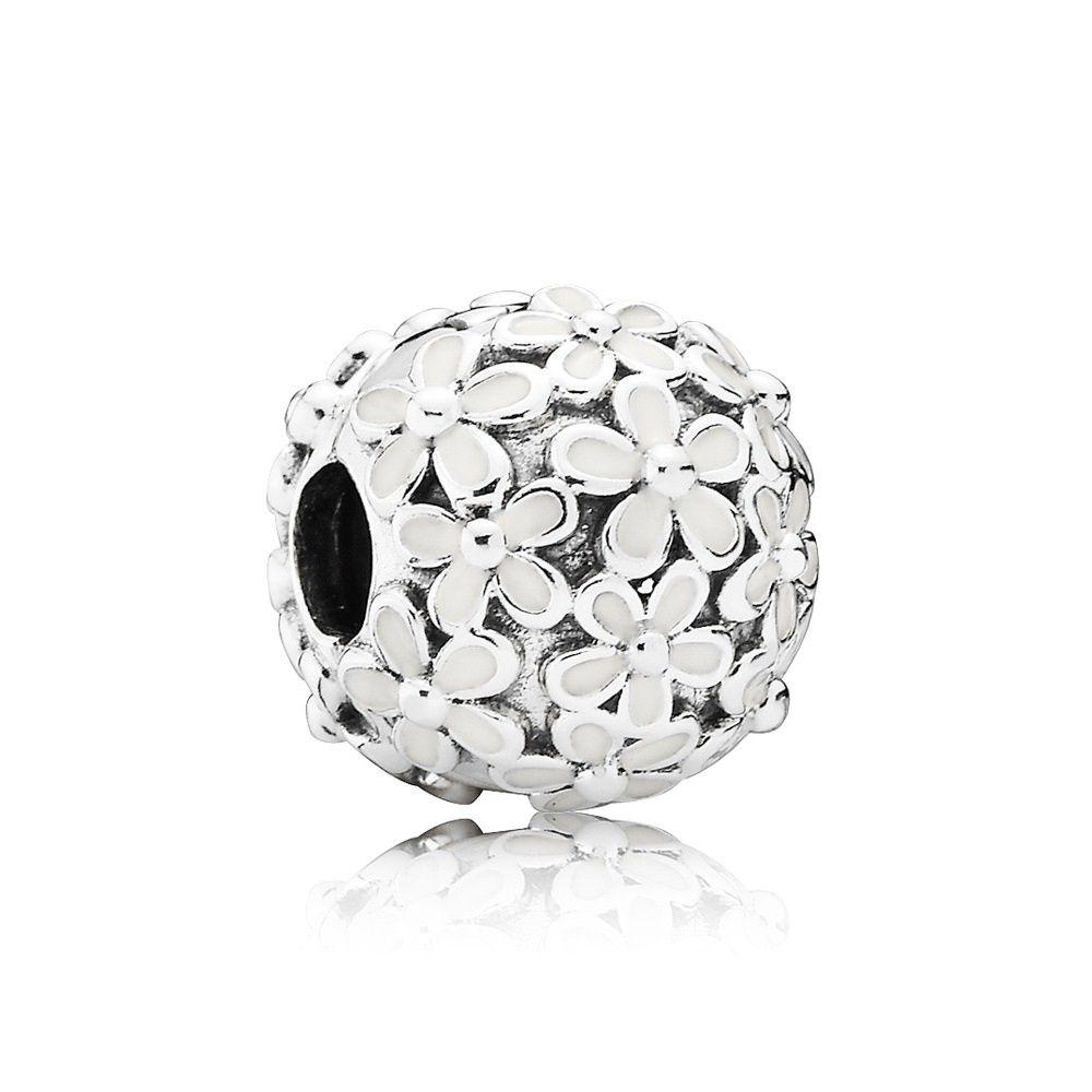 PANDORA Darling Daisy Meadow Clip Charm 791494EN12 Bracelets