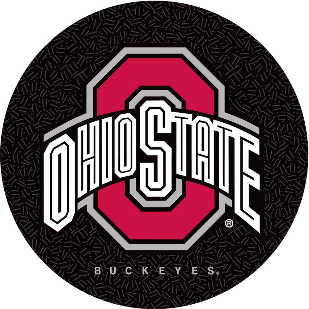 Trademark Global Ohio State University Logo 30 Padded Bar Stool Black Walmart Com Ohio State Ohio State University Padded Bar Stools