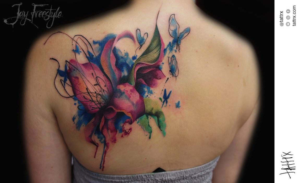 jay freestyle lily tattoo - Google Search | Floral tatto ...