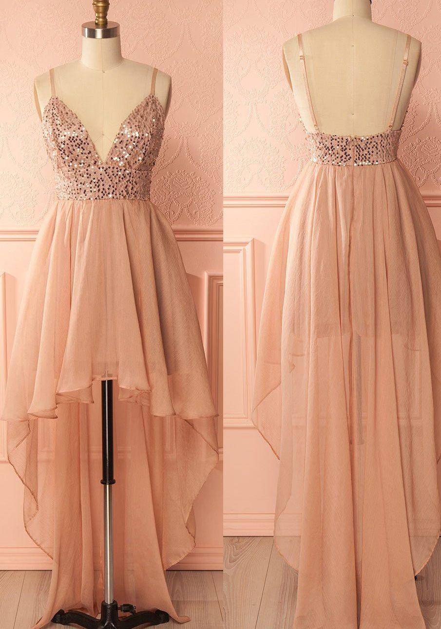 33e3494c508 Cheap A-line Princess Prom Homecoming Dresses Short Pink Dresses ...