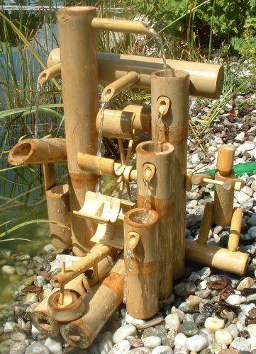 Bambus Wasserspiel Bambus Wasserspiele Pinterest Garten