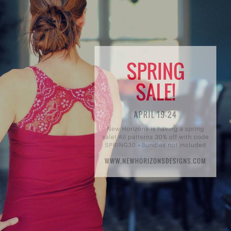 New Horizons Sewing Patterns Spring Sale Save 30 Sewing Patterns Sewing Spring Sale