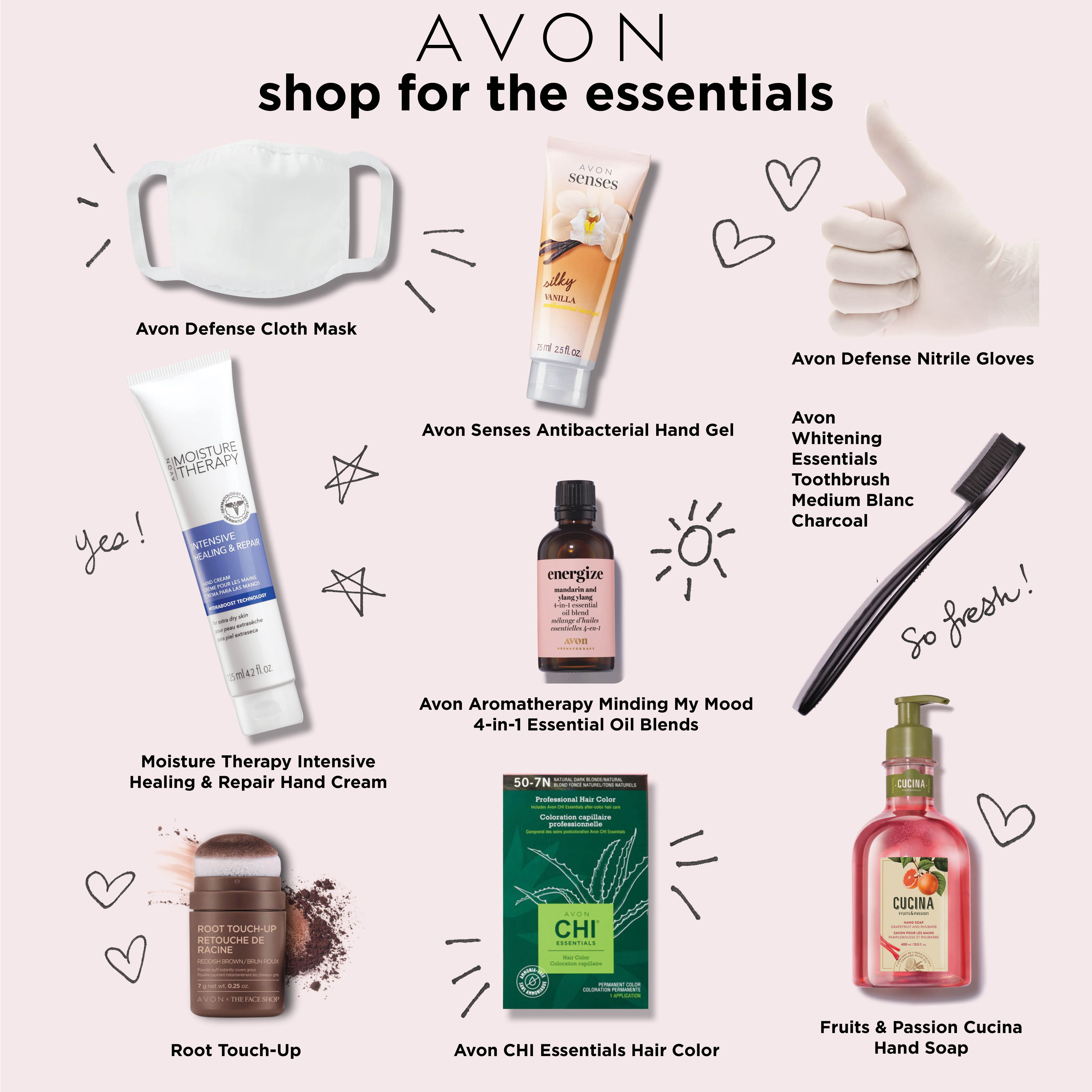 What's your fav Avon Essential? Wash those hands and then put on the hand…
