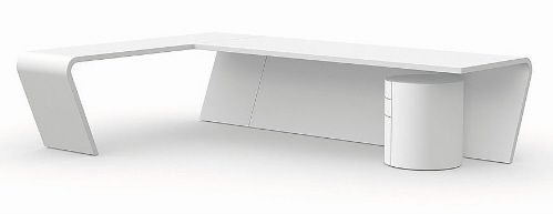 10 Super Modern Desk DesignsIs there any better place to make a style  statement than at