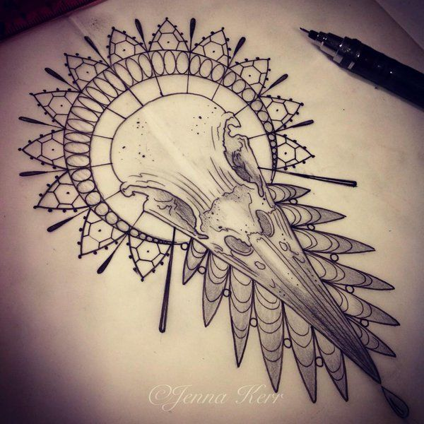 Photo of Vogelschädel Tattoo – Google Suche …