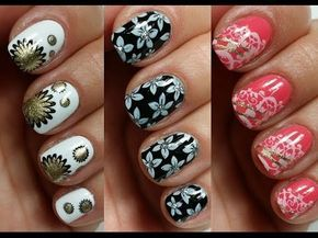 Best Easy Nail Art Designs For Short Nails Youtube Image Collection
